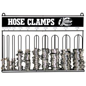 10 LOOP HOSE CLAMP RACK