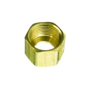 BRASS FITTING COMPRESSION NUT 1/8