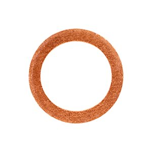 COPPER WASHER 1/4 I.D. 5/8 O.D. 1/16 THICK