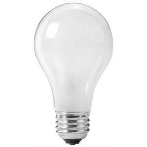 DISC- 75 WATT ROUGH SERVICE LIGHT BULB - 6 BULBS