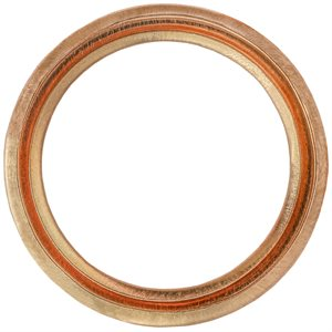OIL DRAIN PLUG CRUSHABLE GASKET 16MM I.D.COPPER