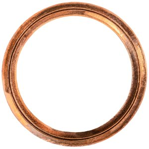 OIL DRAIN PLUG CRUSHABLE GASKET 18MM I.D. COPPER