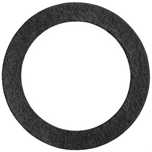 BLACK FIBRE OIL DRAIN PLUG GASKET 25.5MM I.D.