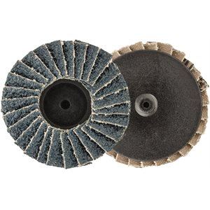 "2"" MINI ZIRCONIA FLAP DISC - 40 GRIT - TYPE 1"