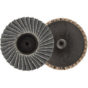 "2"" MINI ZIRCONIA FLAP DISC - 80 GRIT - TYPE 1"