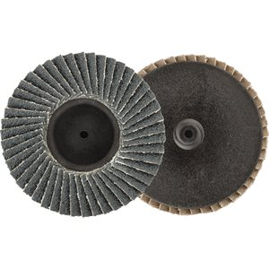 "3"" MINI ZIRCONIA FLAP DISC - 60 GRIT - TYPE 1"