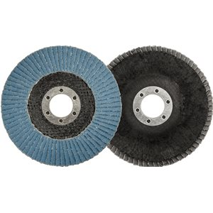 "FLAP DISC - TYPE 29 4.5"" X 7/8"" 60 GRIT"