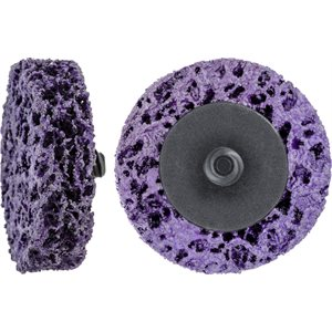 "2"" PURPLE STRIP BRITE DISC WITH ROL-LOCK"