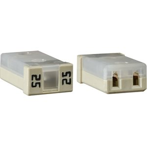 MCASE UNSLOTTED 25 AMP FUSE