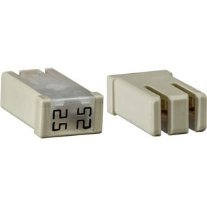 MCASE SLOTTED 25 AMP FUSE