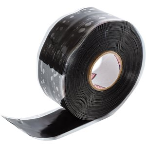 "SELF FUSING SILICONE TAPE - BLACK - 1"" X 20'"