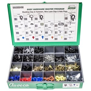 BHM ASST. (MOULDING CLIPS & FASTENERS, PLUG BUTTONS & LOOM CLIPS))