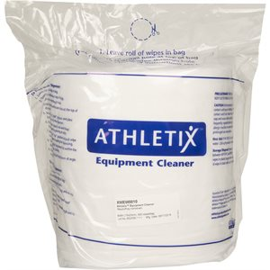 ATHLETIX CLEANER WIPES REFILL ROLLS - 4 ROLLS PER CASE