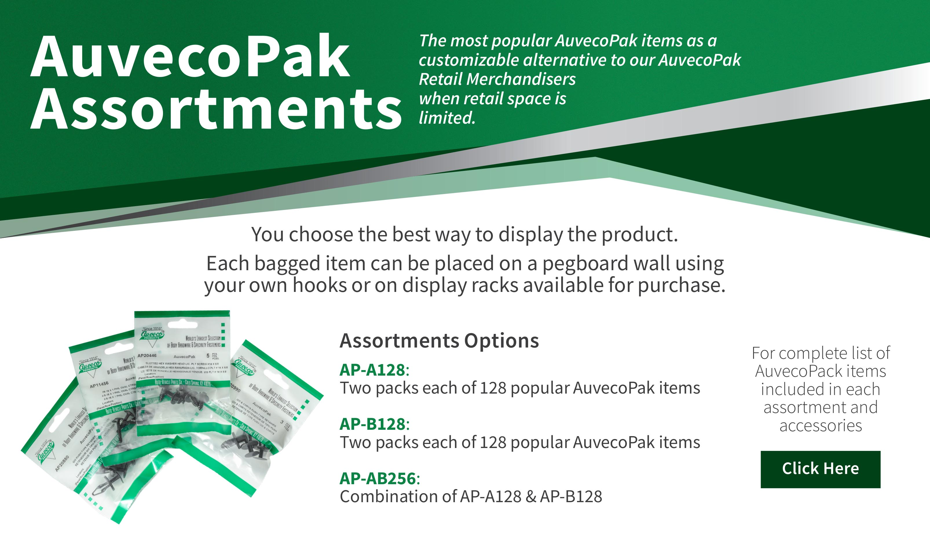 AuvecoPak Assortment Slider