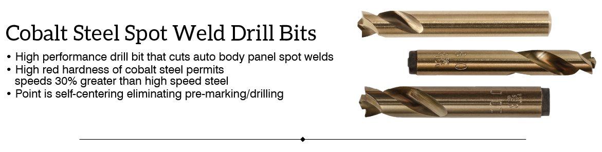 Metric 1.0mm to 13.0mm HSS Regular-Point Drill Bits Regular Length