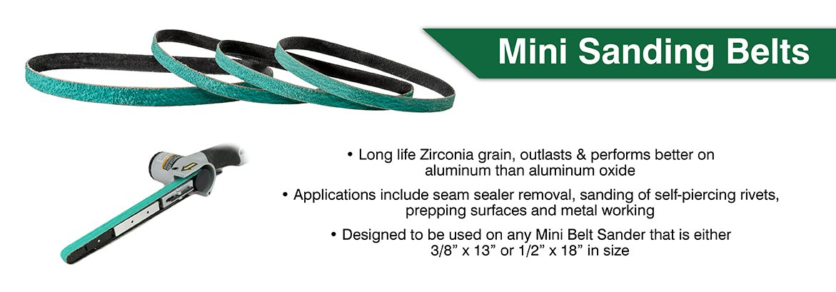 mini sanding belts
